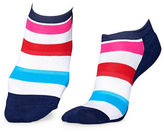 Happy Socks Striped Athletic Low-Cut Socks