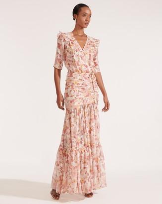 Veronica Beard Mick Floral Maxi Dress