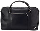Fred Perry Pique Textured Overnight Bag, Black