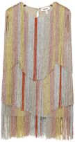 Missoni Knitted Viscose Dress W/ Fringes