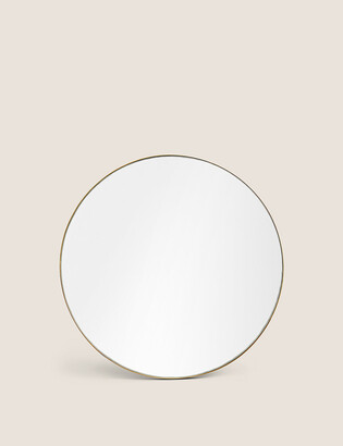 Marks and Spencer Small Milan Antique Brass Wall Mirror