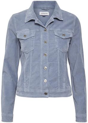 Hunter Denim Molly corduroy jacket in light blue - cotton | blue | 36 - Blue/Blue