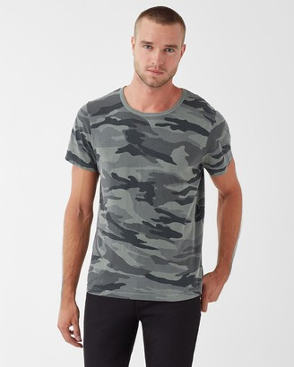Splendid Redwood Jersey Camo Tee