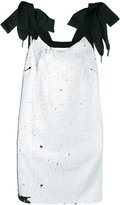 Marques Almeida Marques'almeida - bow-tie sequin dress - women - Acetate/Cupro/Rayon - M
