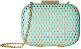 Jessica McClintock Roxi Perforated Minaudiere