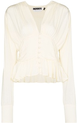 Rotate by Birger Christensen Tracy button-down top