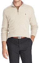 Polo Ralph Lauren Luxury Jersey Half-Zip Pullover