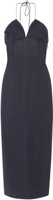 Jacquemus Bambino Linen Midi-Dress
