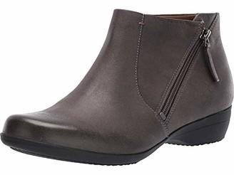 Dansko Women's Fifi Grey Ankle Boot 9.5-10 M US