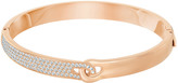 Swarovski Gallon Narrow Bangle, White