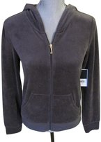 Juicy Couture Top Hat Velour Signature Robertson Track Jacket M