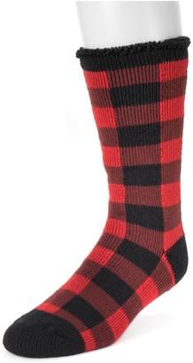 Muk Luks Men's One-Pair Heat Retainer Socks