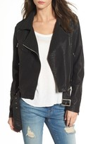 LIRA Women's Furthermore Faux Leather Jacket