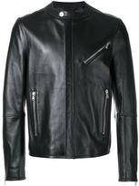 Diesel Black Gold zipped jacket - men - Sheep Skin/Shearling/Viscose - 48