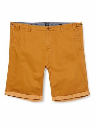 s.Oliver Big Size Men's Bermuda Detroit Relaxed Shorts