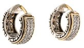 Konstantino Diamond Classics Hoop Earrings