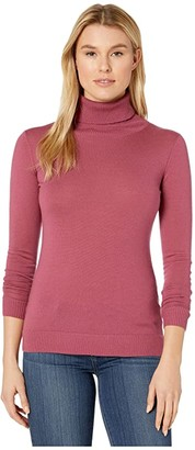 Pendleton Timeless Turtleneck (Camel Heather) Women's Clothing