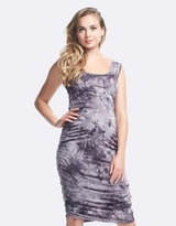 Soon Celina Print Maternity Tank Dress