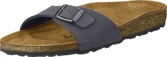 Birkenstock Madrid Unisex-Adults' Sandals Blue (Navy) - 7 UK
