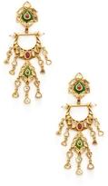 Amrapali Women's 22K Yellow Gold, Pearl, Ruby & 2.90 Total Ct. Diamond Chandelier Earrings