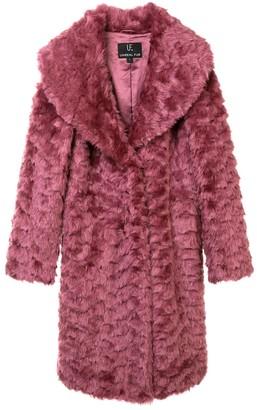 Unreal Fur Tufted Faux Fur Coat