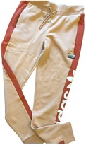 adidas Beige Cotton Trousers for Women