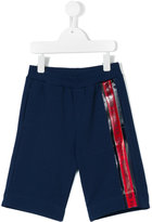 Versace Greek Key trim shorts