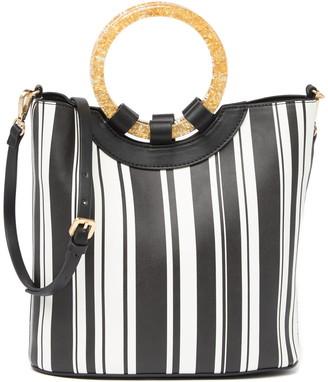 Betsey Johnson Bucket Crossbody Bag