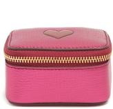Anya Hindmarch Heart small grained-leather keepsake box