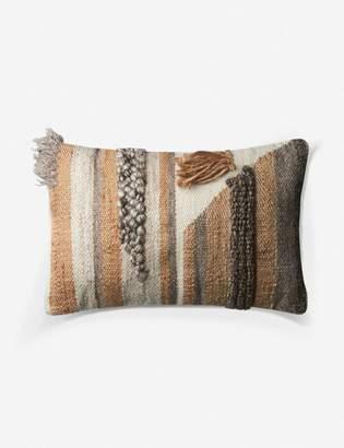ED Ellen Degeneres Lulu And GeorgiaLulu & Georgia Mosel Lumbar Pillow, Multi, Crafted by Loloi