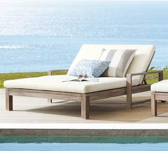Pottery Barn Double Chaise Lounge Frame