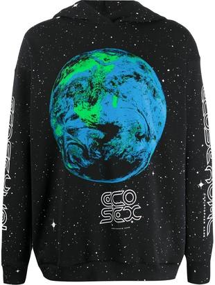 Christopher Kane Ecosexual World print hoodie