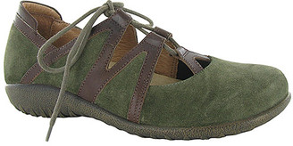Naot Footwear Women's Mary Janes Oily - Oily Olive & Toffee Timu Leather Mary Jane - Women