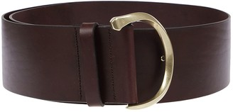 Orciani Brown Leather Belt