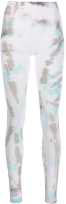 Collina Strada tie-dye print leggings