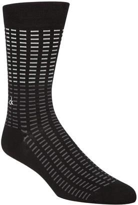 Calvin Klein Men Tile-Print Socks