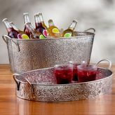 Moorish Wine Tray or Beverage Bucket