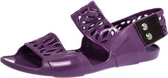 Marni Purple Jelly Slingback Sandals Size 36