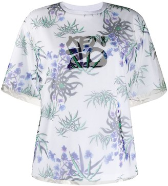 Kenzo Sea Lily layered T-shirt