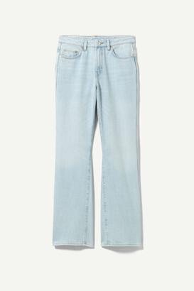 Weekday Sway Mid Bootcut Jeans - Blue