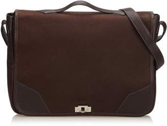 Hermes Brown Victoria Messenger Bag