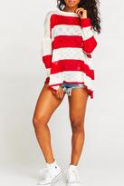 Show Me Your Mumu Bonfire Stripe Sweater