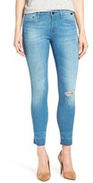 Mavi Jeans Women's Gold 'Alexa' Stretch Ankle Skinny Jeans