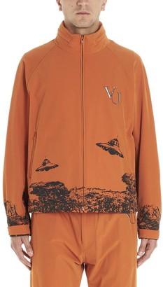 Valentino X Undercover Graphic Printed Windbreaker
