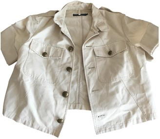 Lauren Ralph Lauren Beige Cotton Jacket for Women