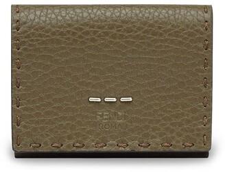 Fendi Logo Embossed Tri-Fold Wallet
