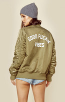 Private Party pb exclusive good vibes bomber