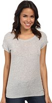 Joe's Jeans Women's Cotton Modal Jersey Meryem Tee