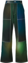 Kenzo Northern Lights trousers - women - Cotton - 34