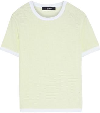 Twenty Montreal Cotton-blend Mesh T-shirt